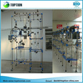 TOPTION (CE & ISO Certification) Ex-proof Glass Reactor 5L, 10L , 50L, 100L , 150L 200L with High Borosilicate glass