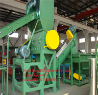 PP PE film recycling line/ PP PE film recycling plant/ waste plastic recycling plant