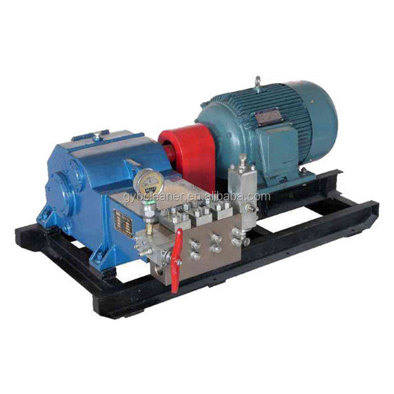 high pressure water pressure test pump hydro blasting equipment