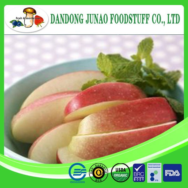 New crop iqf fruits supplier fuji apple exporter in china
