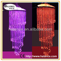 fiber optic chandelier lighting