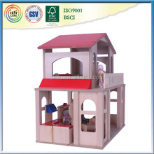 2017 hot wooden play new set house,toy used in japan