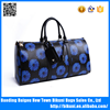 High quality European fashion PU leather big size business travel bag sport gym bag for women