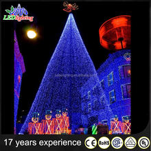 New product Christmas Trees Decorations with branch light IP44