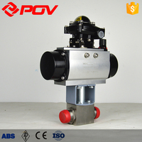 Forged steel Liquid Pressure oil High Pressure Ball Valve