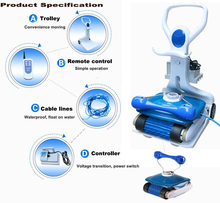 Swimming Pool Equipment Automatic Pool Cleaners with remote control
