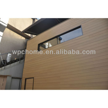 wood plastic composite wpc wall panel /outdoor wall panel
