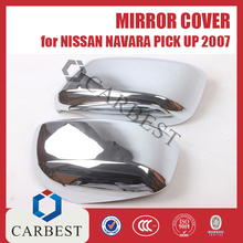 High Quality Chrome Mirror Cover for Nissan Navara pick up 2007