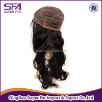 Top quality cheap stop silk top full lace wig, honey blonde human hair full lace wig