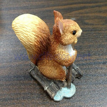 Custom Squirrel Animal, Mini Squirrel Figurine, OEM Animal Statue