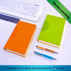 eco notebook with pen printed with your logo monogrammed notebook