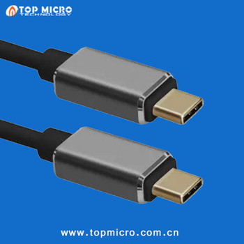 Wholesale Type C To Type C Quick Charge Switch Cable USB Smart Data Line