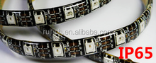 colorful rgb 5050 led strip ws2812b ws2812 2812 60led/m black pcb waterproof Display led stripe