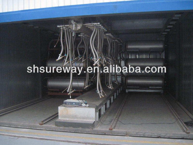150L~450L vehicle LNG cylinder