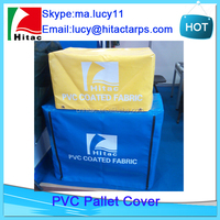 Reusable dustproof waterproof pvc vinyl plastic pallet cover bag