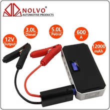 12000mAh Battery Jump Starter 12V 5.0L Petrol/3.0L Diesel Auto Multifuction Power Bank Car Emergency Battery Booster Pack