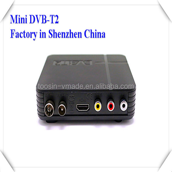 HD TV RECEIVER FROM ANALOG TO DIGITAL FTA DVB-T2 SUPPORT 3G WIFI DONGLE