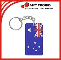 Promotional Acrylic Bottle Key Chain