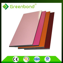 Greenbond pvdf coating melamine decorative wall covering panel