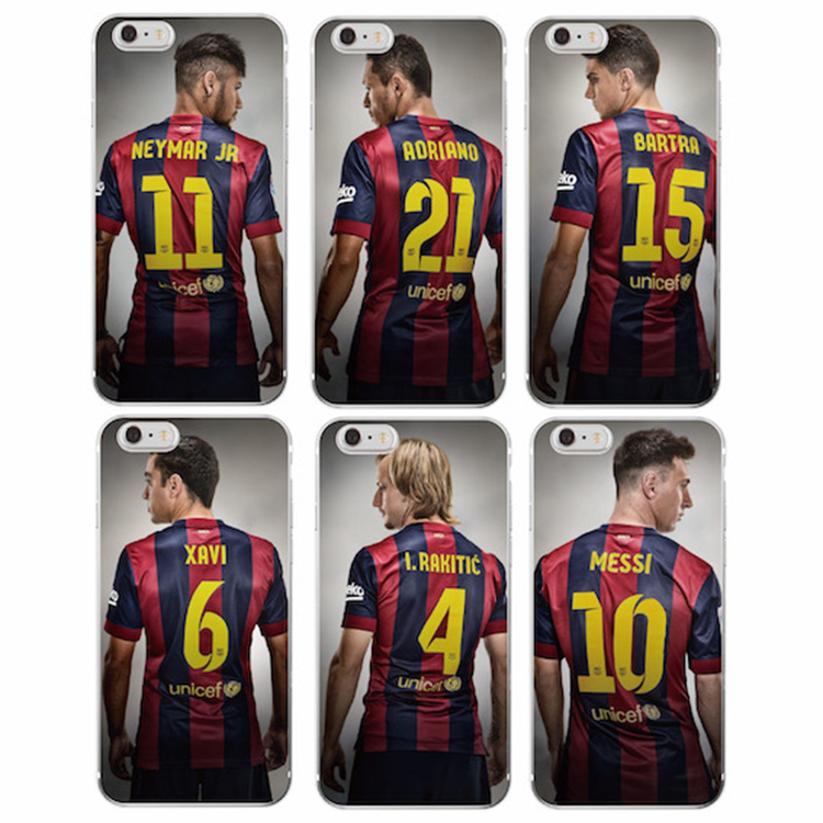 TOMOCOMO Football star cristiano ronaldo Lionel messi Paulo Dybala phone case for iPhone 5 5C SE 6 6plus 7 soft silicone Cover