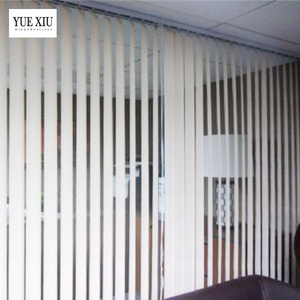 New Style Design Customized Vertical Blinds PVC 100% Polyester Slat Vertical Blinds