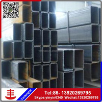 Black/galvanized coating square/rectangular steel pipe/hollow section