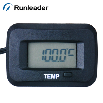 Digital Waterproof Temperature Meter Thermometer Used For Engine Generator Motor Snowmobile Lawn Mower ATV Motorcycle