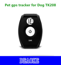 cheap mini pet animal gps tracker with SOS and free software TK208
