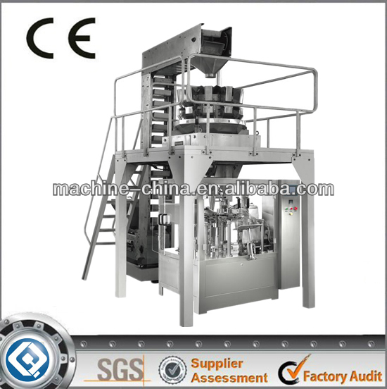 GD8-200A automatic blister packaging machine oil pouch packing machine