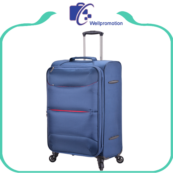 Custom durable spinner wheels nylon american standard bags luggage