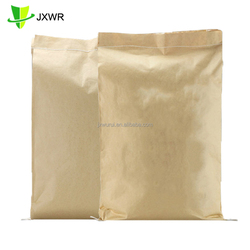 Heavy duty 2 layers plastic kraft paper composite valve bag 50kg cement bag price for sale