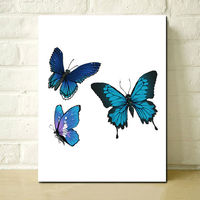 New Design Butterfly Painting for New Year