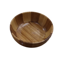 Hot selling stable fruit bamboo salad bowl