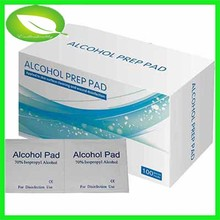 Alcohol Prep Pads FDA CE certificate high quality Medical Sterile Alcohol Pad