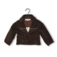 2014 latest korea boys winter suits woollen coats brown jacket coats