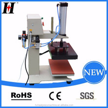 small logo size CE logo QX-B6-A 20X30CM second hand sublimation heat press machine
