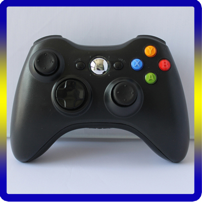 New Black For Xbox Wireless 360 Controller Cheap Price Wireless Connection