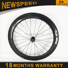 2015 New arrival 3k spoke bed 700c road bike carbon 50mm wheel set clincher with basalt braking surface&High temp resin