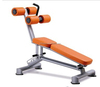 Gym equipment curved abdominal bench/ adjustable web board XH43