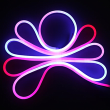 Waterproof IP68 80led/M F5 LED Neon Flexible Strip Light RGB/Warm/Cold/Bulb/Gree LED Flex Neon Rope Light