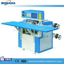 HN700 soft loop handle bag making attaching machine/plastic bag soft handle making machine