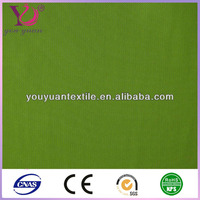 Green Polyester Spandex Blend Elastic Mesh Fabric / Fashion Cloth Fabric