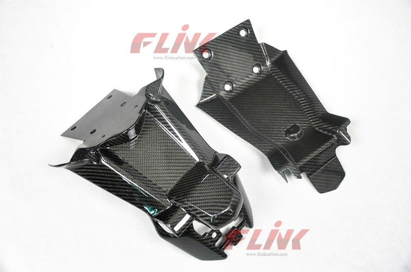 Carbon Fiber motorcycle Part Number Plate Holder for Ducati Multistrada 1200