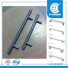 Porcelain aluminum furniture drop handle