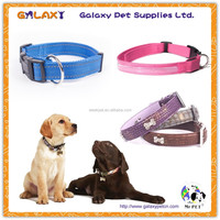wholesale black leather dog collar; strong dog collar; veterinary inflatable dog collar