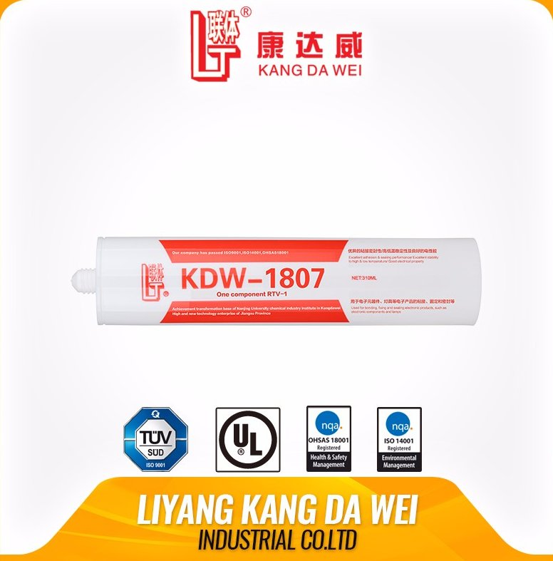 Neutral pure liquid silicone for electronics