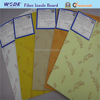 Nonwoven fiber insole board for running