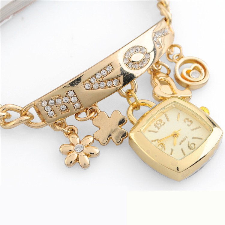 2015 charm love vintage watch bracelet one direction watch bracelet valentine's day gift watch LW1704-5