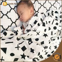 Muslin Swaddle Soft Custom Design Thermal Mexican Blanket