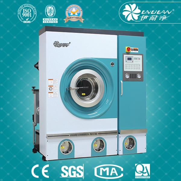 Professional Dry Cleaning Machinery with PCE Solvent Recycle system With Good Quality